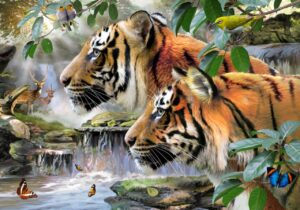 Howard Robinson's Early morning in Bengal Wall Mural