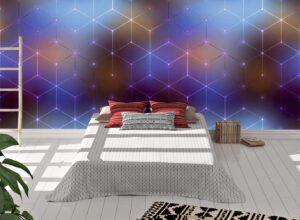 Abstract Cubes PatternWall MuralAbstract Cubes PatternWall Mural