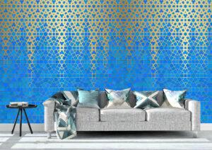 Classic Arabic Geometric Wall Mural