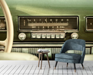 Best Car Radio Wall Mural