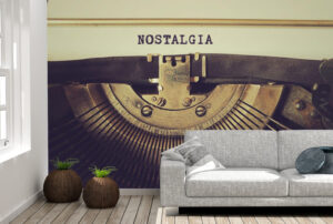 "Best Word ""Nostalgia"" Wall Mural"