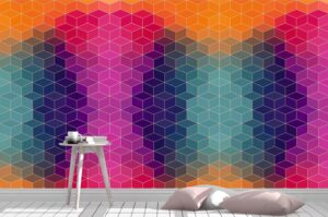 Bright Vector Pattern Wall Mural