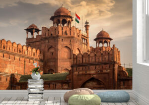 Famous Red Fort Delhi Wall Mural