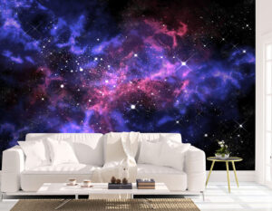 Glowing Orion in the Universe Wall Mural