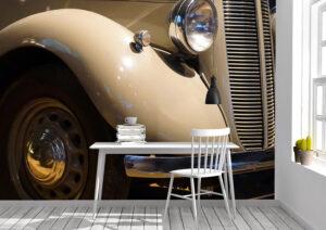 Cars, Antique, Headlamp, wall mural