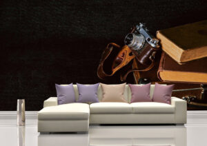 Best Classic Retro Camera Wall Mural