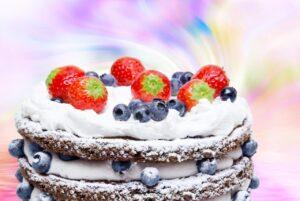 Delight Birthday Cake Wall Mural