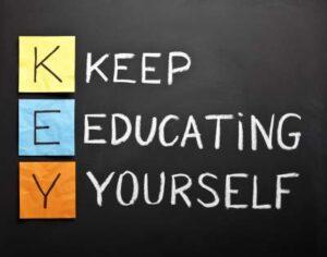 Wonderful Education Motivation Wall Mural