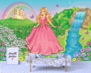 Beautiful Royal Princess Wall Mural