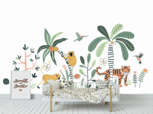 Amazing Animals Wall Mural